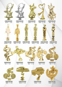 Figurki plastikowe, figurki sportowe, statuetki, statuetki okolicznościowe, statuetki
