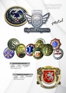 Medale metaloplastyka