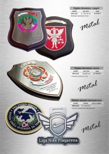 Przypinki metalowe, grawerowanie, pinsy metalowe, pinsy reklamowe, pinsy na zamówienie, odznaczenia wojskowe, przypinki na studniówkę, tablice znamionowe
