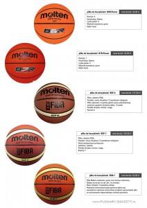 piłka do kosza, piłki do koszykówki, molten B6R-Power, molten B7R-Power, molten BGF-6, molten BGF-7, molten BGR-7