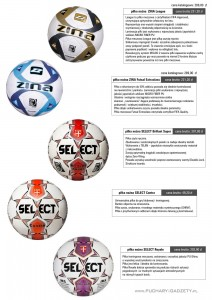 piłka nożna, piłki nożne, piłki Zina, Piłka Select, Zina League, Zina Futsal, Select Brilliant Super, Select Contra , Select Royal