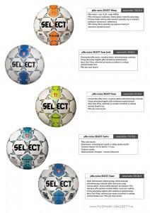 piłka nożna, piłki nożne, Select Viking, Select Team Limit, Select Contra, Select Super