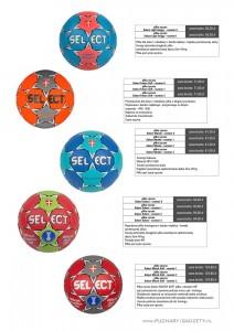 piłka ręczna select, piłki ręczne, piłki do ręcznej, Select Light Grippy, Select Future Soft, Select Mundo, Select Solera, Select Match Soft