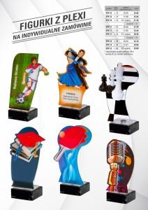 figurki plexi, Figurki plastikowe, figurki sportowe, statuetki, statuetki okolicznościowe, statuetki