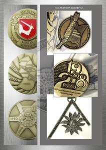 Medale, ordery i odznaczenia, monety na zamówienie, medale odlewane, medale produkcja, ordery i odznaczenialewane