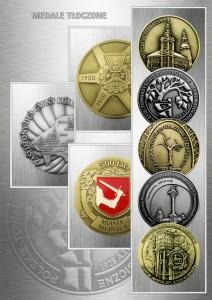 medale odlewane