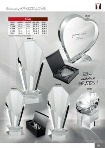 statuetka szklana, statuetki szklane, CX 024, CX 070 A, CX 070 B, CX 070 C, CX 068